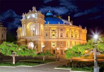 Odessa Opera House, Ukraine - 1500pc Jigsaw Puzzle by Castorland