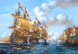 Jigsaw Puzzles - Battle of Porto Bello, 1739
