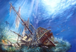 Jigsaw Puzzles - Sunk Galleon