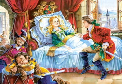 The Sleeping Beauty - 260pc Jigsaw Puzzle by Castorland