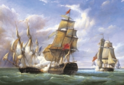 Hard Jigsaw Puzzles - Gilbert: Combat, 21st April 1806