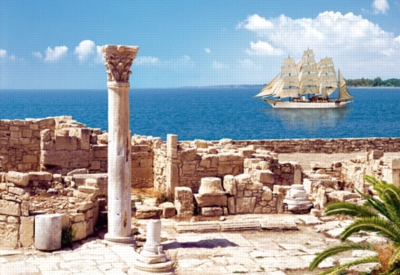 Basilica Ruins in Kourion, Cyprus - 3000pc Jigsaw Puzzle by Castorland