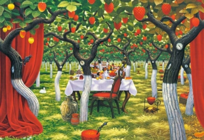 Wild Strawberries Orchard - 3000pc Jigsaw Puzzle by Castorland