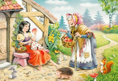 Snow White - 500pc Jigsaw Puzzle by Castorland