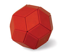 Magnetic Puzzles - Ball of Whacks (Red)