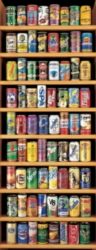 Dowdle Panoramic Jigsaw Puzzles - Soft Drink Cans