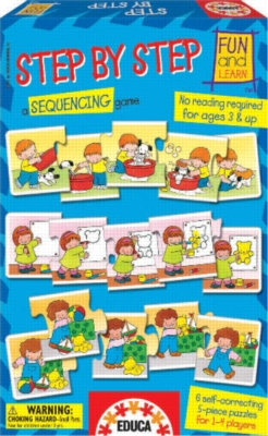 Step By Step - 30pc Jigsaw Puzzle by EDUCA
