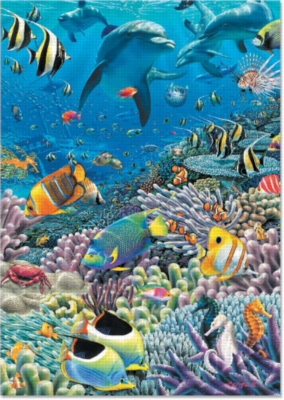 Sea Of Life - 2000pc Jigsaw Puzzle by EDUCA
