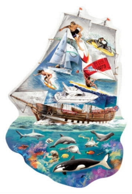 Marine Dreams - 1000pc Jigsaw Puzzle by EDUCA
