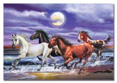 Horses - 100pc Jigsaw Puzzle by EDUCA