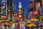 Times Square - 1000pc Glow in the Dark Jigsaw Puzzle by EDUCA