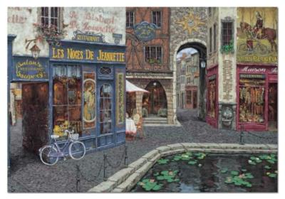 Viktor Shvaiko: Les Noces De Jeannette - 1000pc Jigsaw Puzzle by Educa