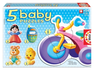 Jigsaw Puzzles For Kids - Toys (5 Pack)