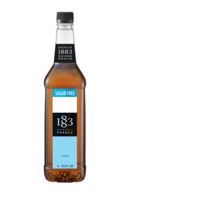 1883 Flavor Syrup (Sugar Free): 1 Liter Plastic Bottle