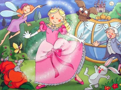 Cinderella - 100pc Wooden Jigsaw Puzzle By Educa