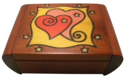 Puzzle Box - Heart