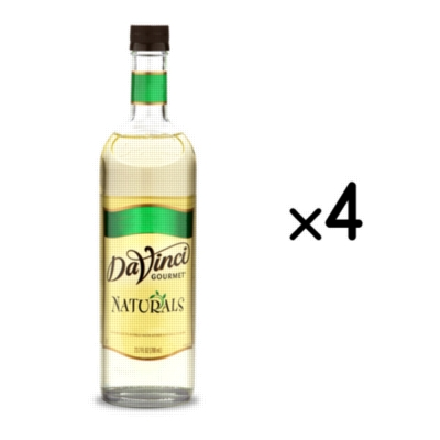 DaVinci Naturals Flavored Syrups - 750 ml. Plastic Bottle Assorted Case