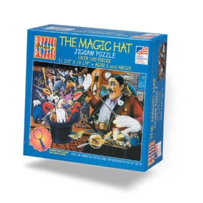 Magic Hat - 100pc Jigsaw Puzzle By Great American Puzzle Factory