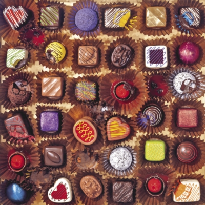 Chocolates - 750pc Jigsaw Puzzle By Great American Puzzle Factory