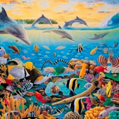 Tales Of Tavarua - 750pc Jigsaw Puzzle By Great American Puzzle Factory