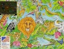Jungle Eyes - 100pc Jigsaw Puzzle By Great American Puzzle Factory