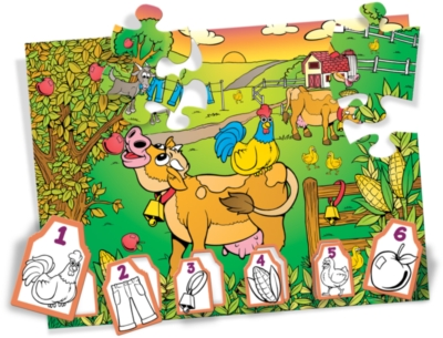 Crayola Farmyard Fun - 36pc Jigsaw Puzzle By Great American Puzzle Factory