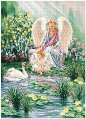 An Angel's Guidance - 1000pc Jigsaw Puzzle By Great American Puzzle Factory