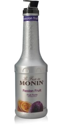 Monin Fruit Puree - 1L Plastic Bottle: Passion Fruit