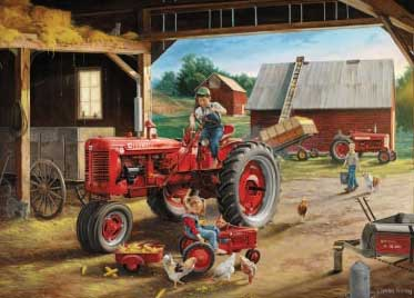 Farmall Friends - 1000pc Jigsaw Puzzle by Great American Puzzle Factory