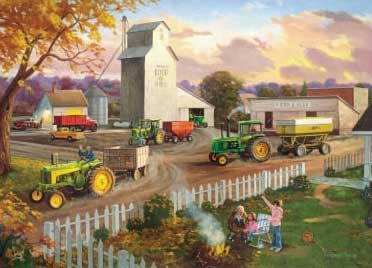 John Deere Generations - 1000pc Jigsaw Puzzle by Great American Puzzle Factory