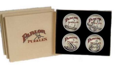 Parlor Puzzles 4 Puzzle Gift Box