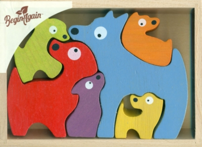 Children's Puzzles - Dog Family