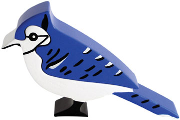 Blue Jay - 2pc Eco-Friendly Wooden Jigsaw Puzzle by ImagiPLAY