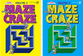 Maze Craze Volume 1 - Puzzle Book by Kappa