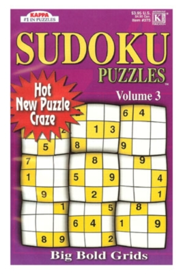 Sudoku Puzzles Volume 3 (Paperback)