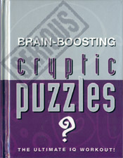 Brain-Boosting Cryptic Puzzles - Puzzle Book