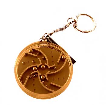 Spiral - Key Chain BB Puzzle