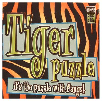 Safari Puzzles: Tiger - Pattern Matching Puzzle