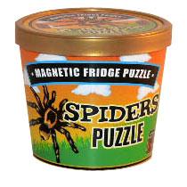 Magnetic Fridge Spiders Puzzle