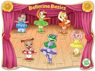 Leapfrog: Ballerina Basics - 6pc Kids Puzzle by Masterpieces