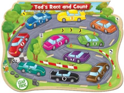 Leapfrog: Tad's Race & Count - 10pc Kids Puzzle by Masterpieces