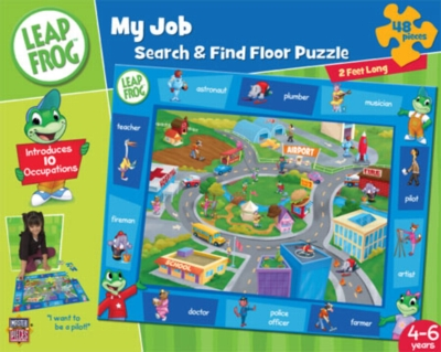 Leapfrog: My Job Search & Find - 48pc Jigsaw Puzzle by Masterpieces