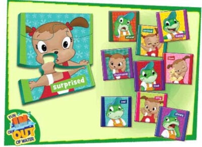 Leapfrog: Emotions Match - 10pc Bathtub Puzzle by Masterpieces