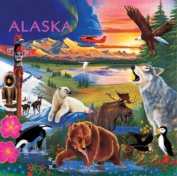 Children's Puzzles - Alaska Wildlife