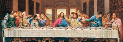 Last Supper - 1000pc Panoramic Jigsaw Puzzle by Masterpieces