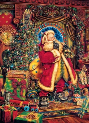 Christmas Presence - 500pc Jigsaw Puzzle by Masterpieces
