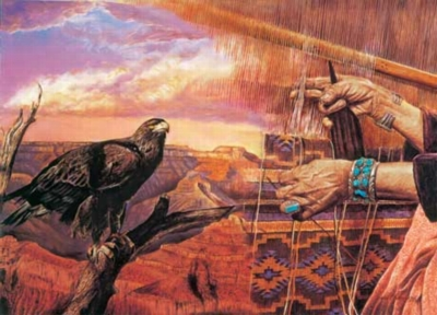 Canyon Weaver - 500pc Jigsaw Puzzle by Masterpieces
