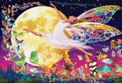 Moon Fairy - 500pc Glow in the Dark Jigsaw Puzzle by Masterpieces