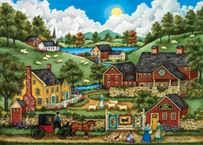 A Roadside Stop - 500pc Jigsaw Puzzle by Masterpieces