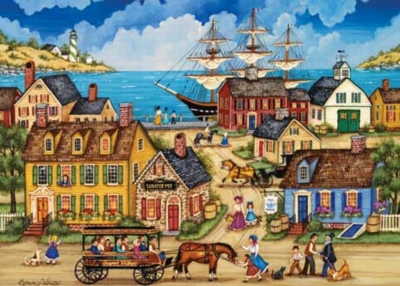 Seaport Village - 500pc Jigsaw Puzzle by Masterpieces